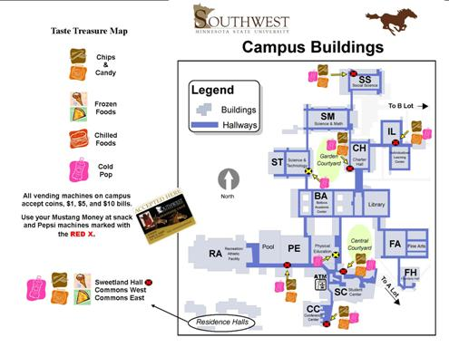 Taste Treasure Map