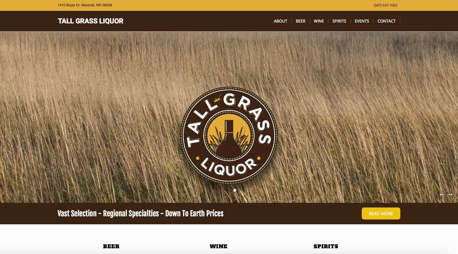 Tall Grass Liquor