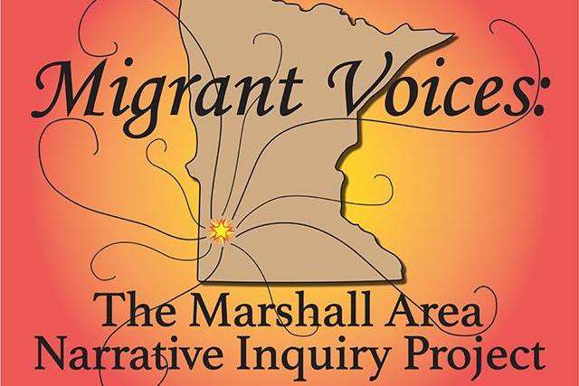 Graphic for Migrant Voices Project