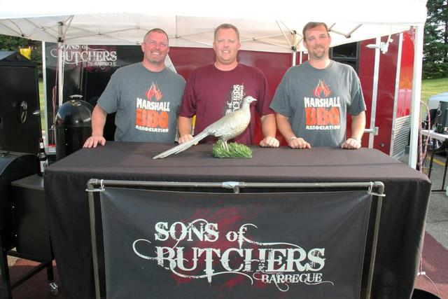The Sons of Butchers, from Marshall, Minn.
