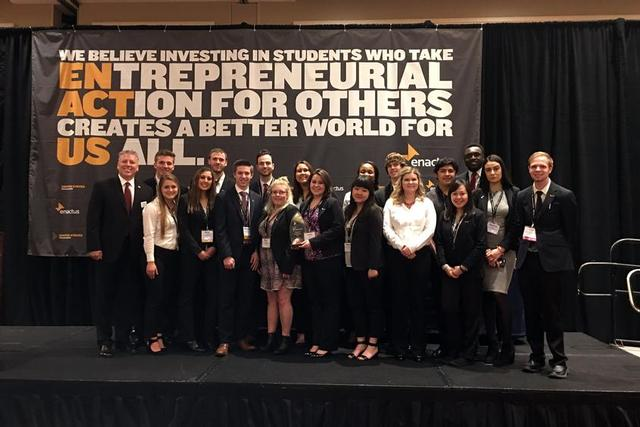 Enactus Wins Regional Championship, Headed to National Competition
