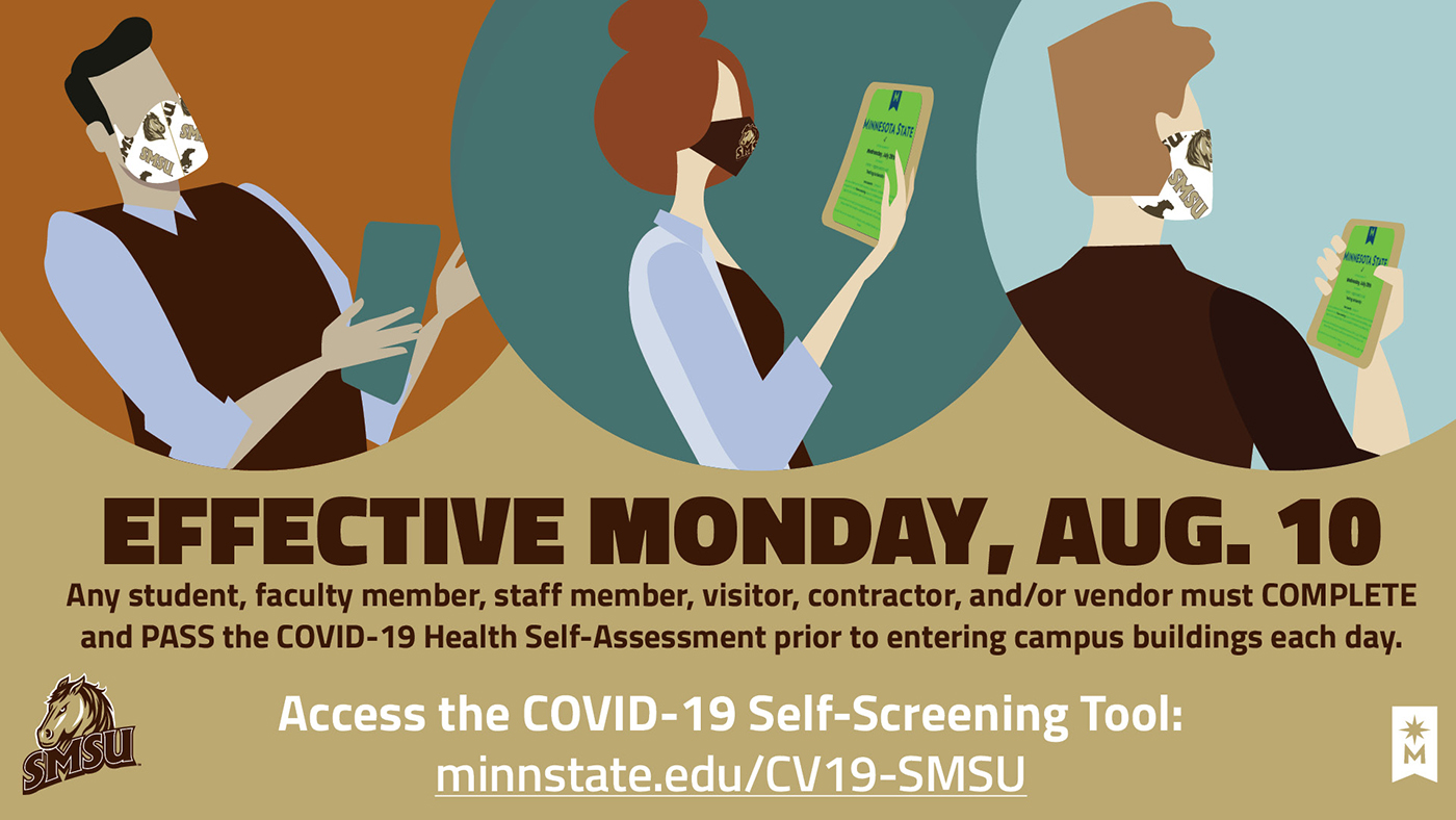 Health Self-assessment Required Starting August 10