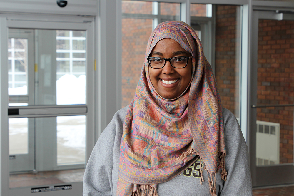 Fadumo Ismail Named 'Outstanding Senior' at SMSU