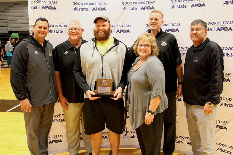Dicke Honored for Selection to Allstate Good Works Team