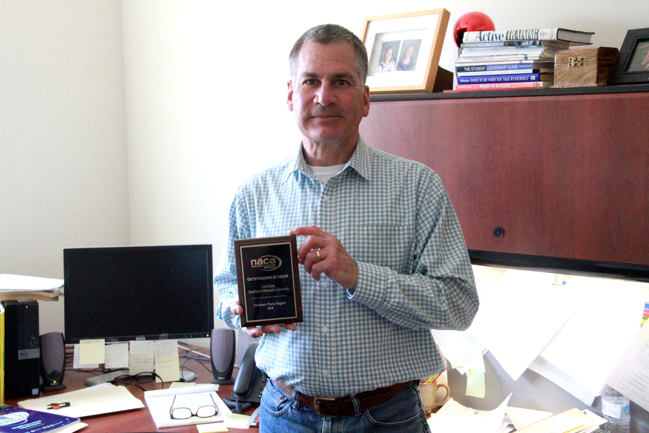 Ewing Named NACA Outstanding Advisor