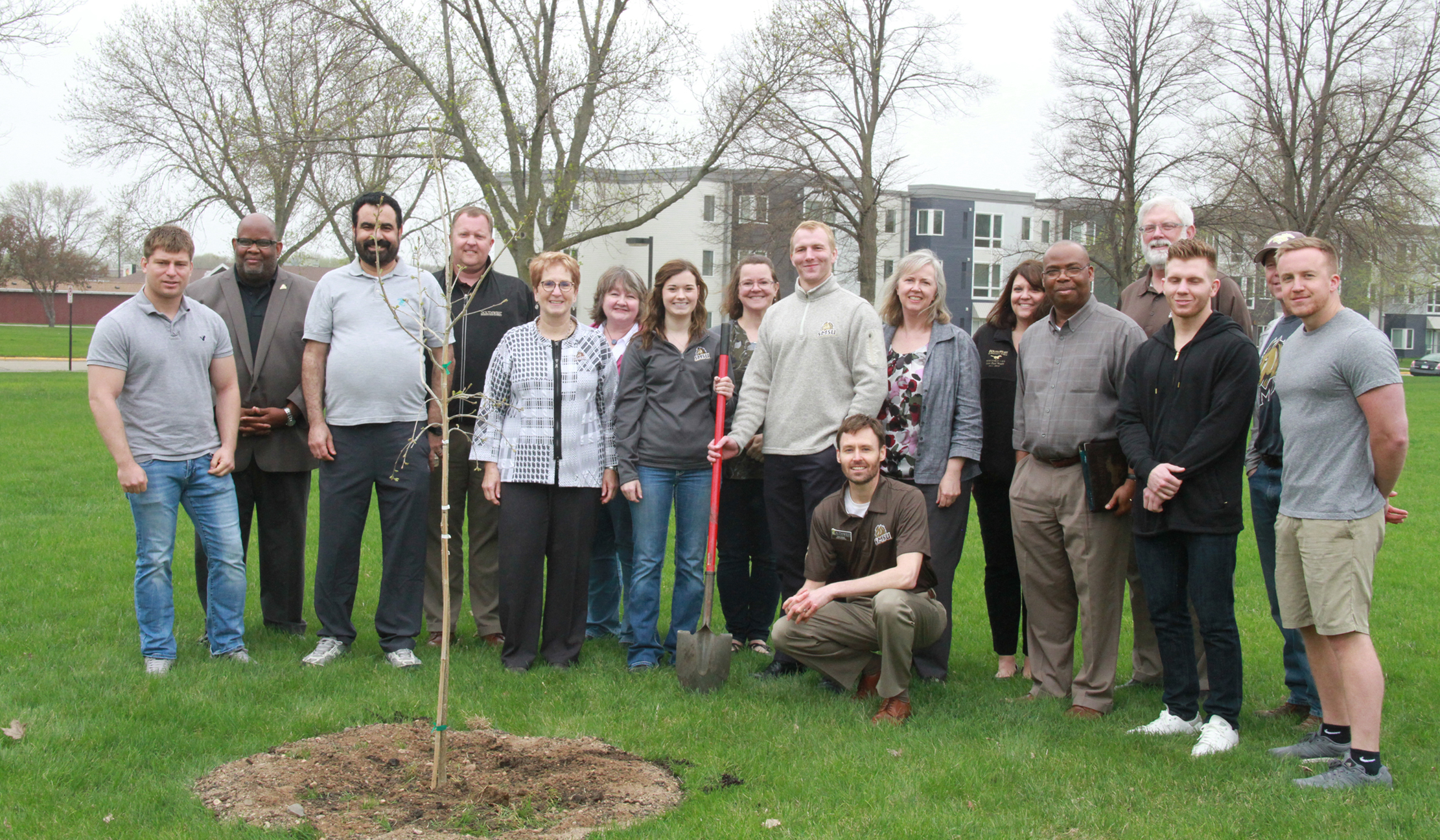 Graduate Gift Project Adds Trees to Campus
