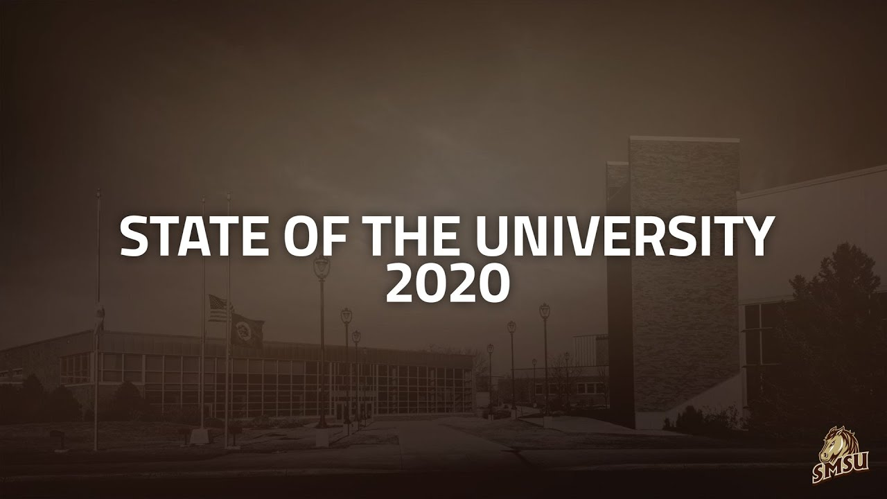 2020 State of the University Address