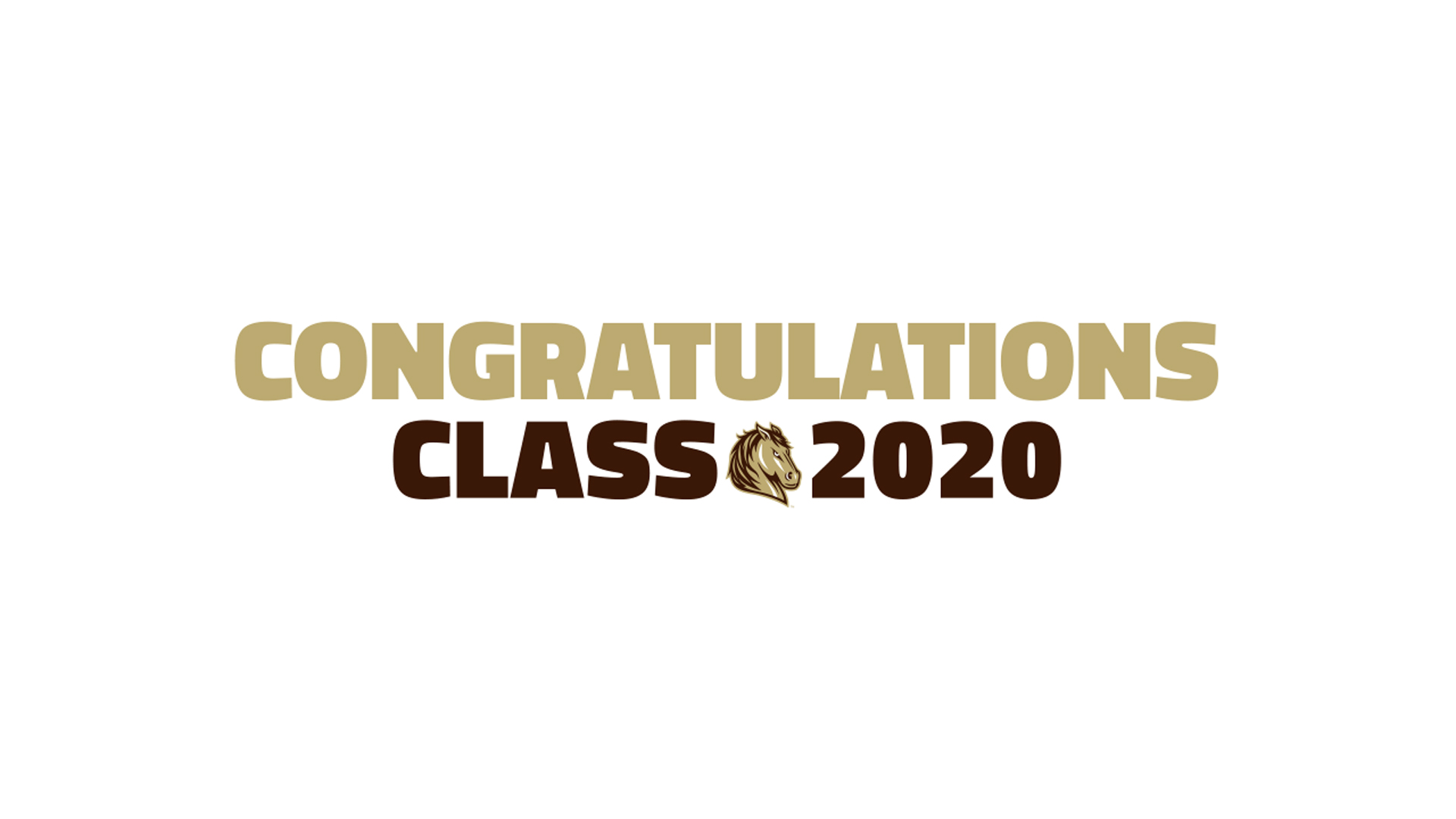 Congratulations Class of 2020! You Did It!