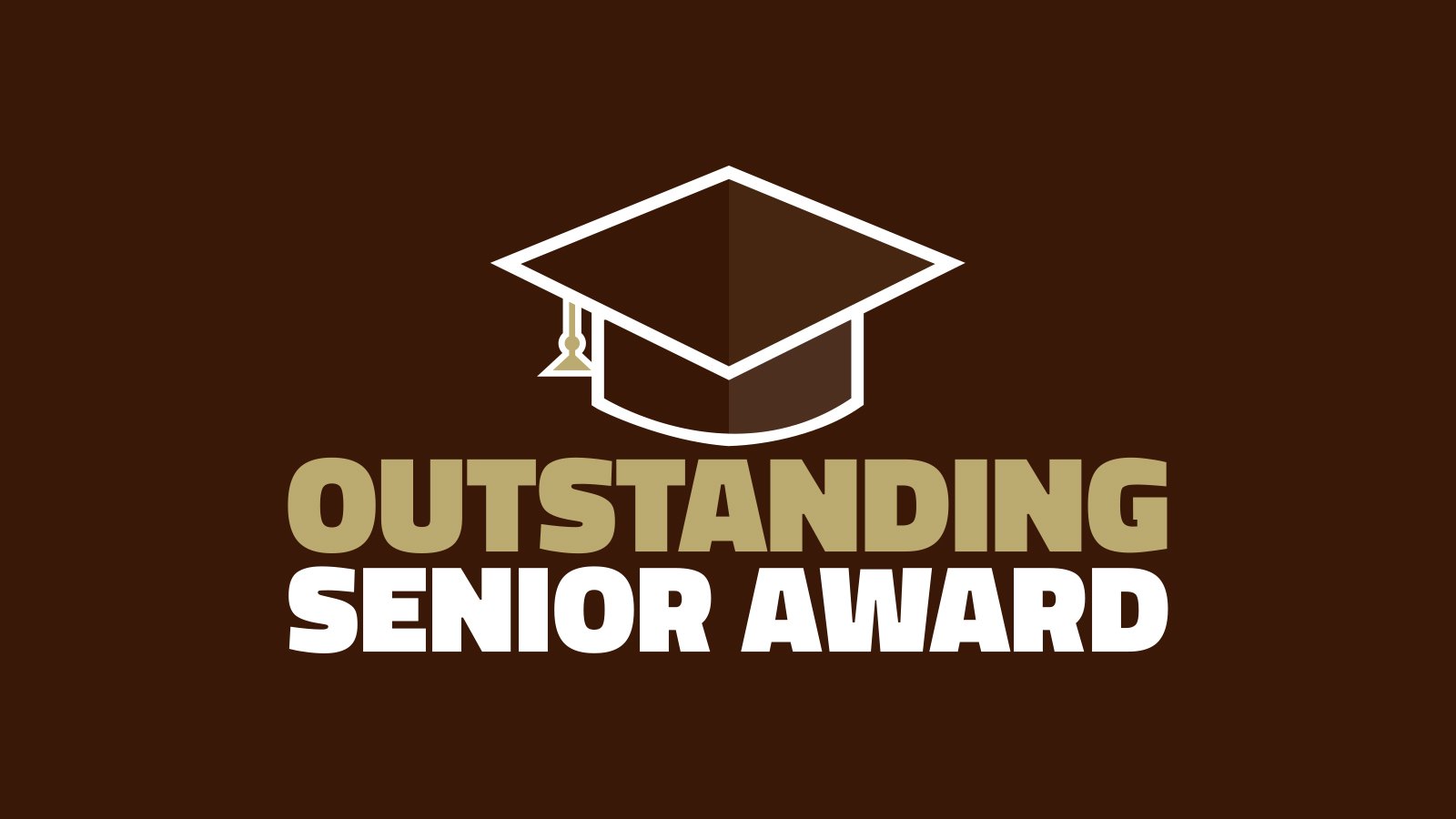 2020 Outstanding Senior Award Announcement